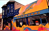 Potpourri Head Shop mural