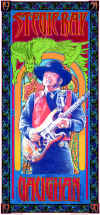 Stevie Ray Vaughan poster